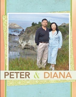 Peter and Diana
