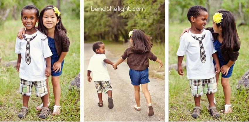 Adoption Photo Shoot