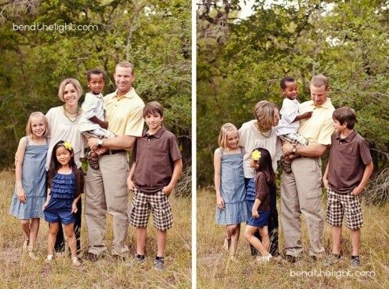 Adoption Family Photo Shoot