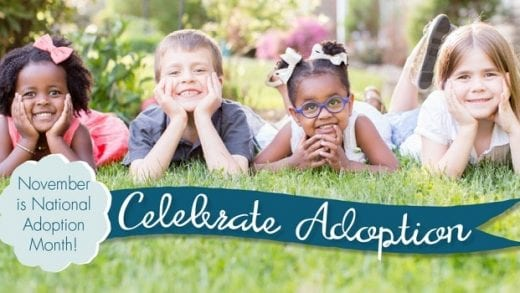 National Adoption Month: How to Get Involved