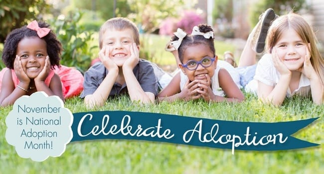 National Adoption Month 2016