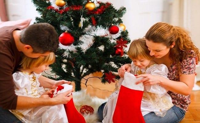 Adoptive Parents Celebrate Christmas