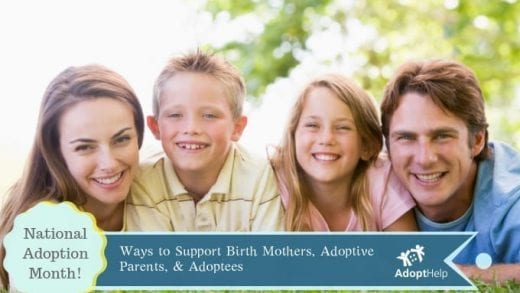 National Adoption Month: Ways to Support Birth Mothers,…