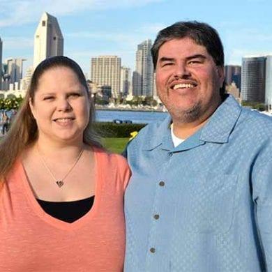 Kelli and John