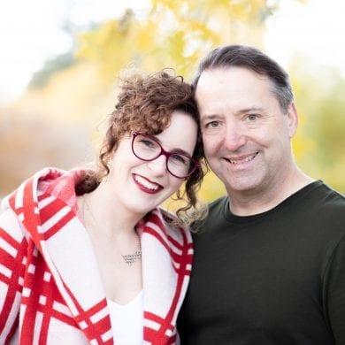 Susan and Brian