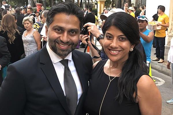 Asha and Anil