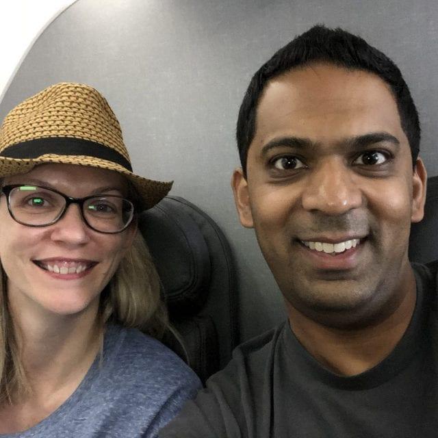 Brenda and Ravi
