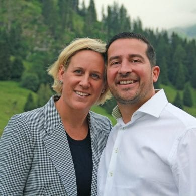 Caroline and Sylvain