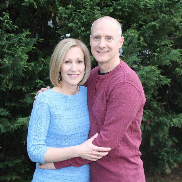 Susan and Chris