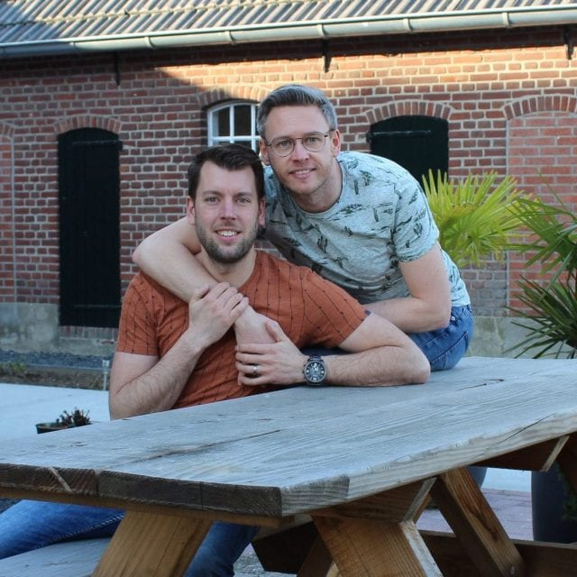 Tim and Jeroen