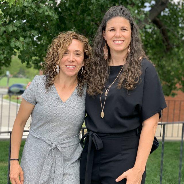 Christina and Angela