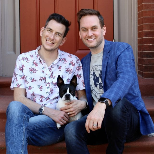 Brendan and Joshua