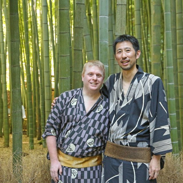 Nathan and Kenichi